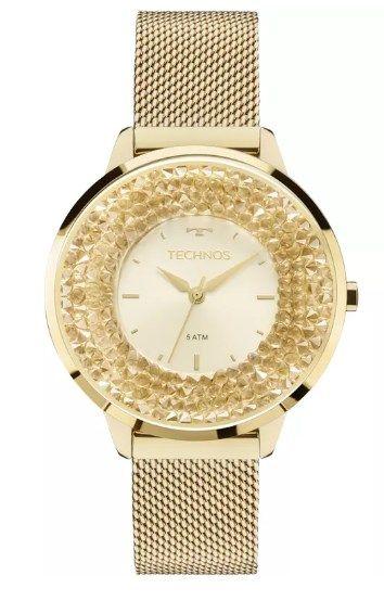 Relógio Technos Feminino - 2035MLG/4X  - Dumont Online - Joias e Relógios