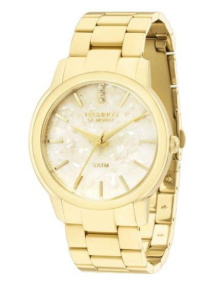 Relógio Technos Feminino Elegance St Moritz - 2036LNT/4B  - Dumont Online - Joias e Relógios