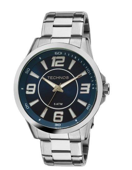 Relógio Technos Masculino - 2036LNW/1A  - Dumont Online - Joias e Relógios