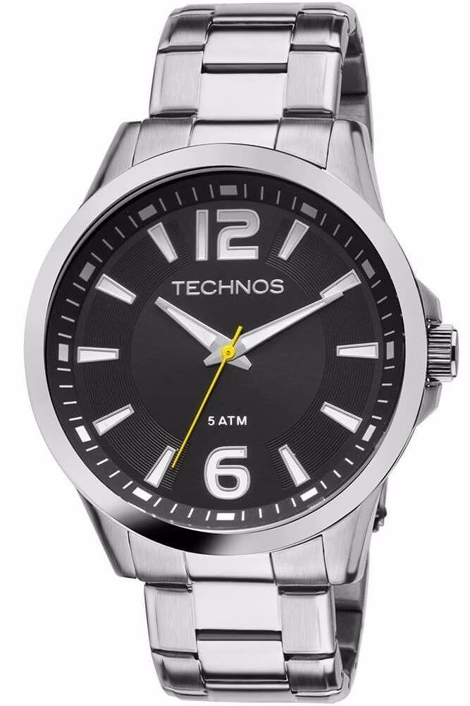 Relógio Technos Masculino - 2036LOA/1Y  - Dumont Online - Joias e Relógios