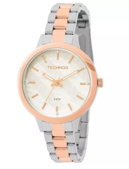 Relógio Technos Feminino Trend - 2036MEU-5K  - Dumont Online - Joias e Relógios
