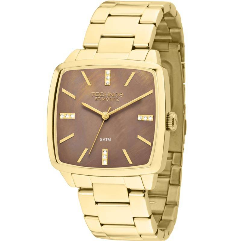 Relógio Technos Feminino - 2039AH/4C  - Dumont Online - Joias e Relógios