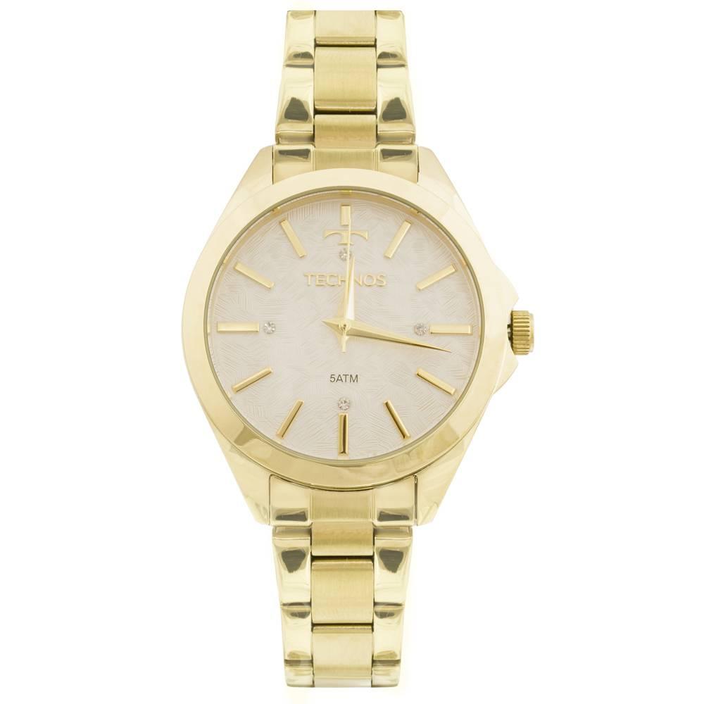 Relógio Technos Feminino - 2039BK/K5B   - Dumont Online - Joias e Relógios