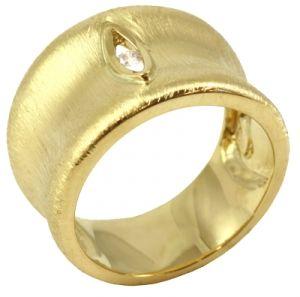 Anel em Ouro com Brilhante  - Dumont Online - Joias e Relógios