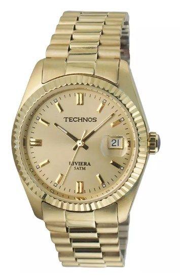 Relógio Technos Masculino - 2115EF/4X  - Dumont Online - Joias e Relógios