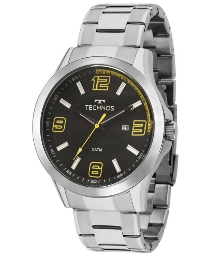 Relógio Technos Masculino - 2115KLM/1Y  - Dumont Online - Joias e Relógios