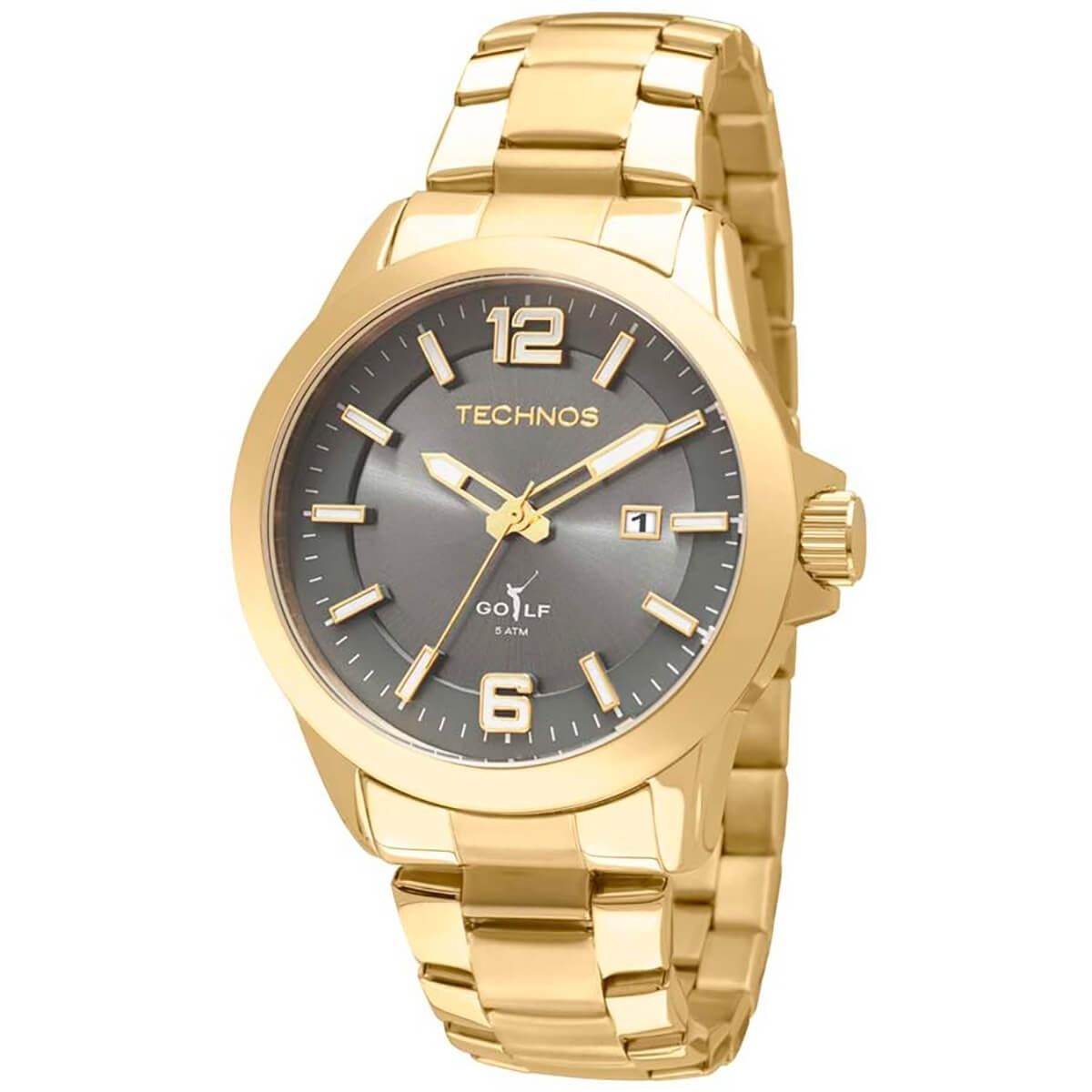 Relógio Technos Masculino - 2115KPX/4P  - Dumont Online - Joias e Relógios