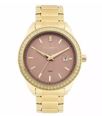 Relógio Technos Feminino - 2115KQY/4T  - Dumont Online - Joias e Relógios