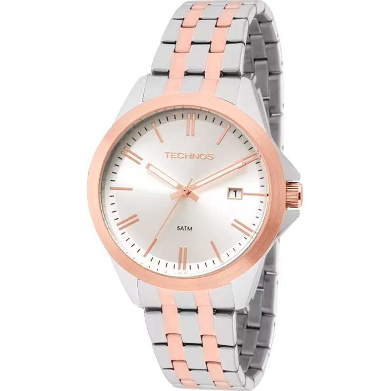 Relógio Technos Masculino - 2115KRZ/5K  - Dumont Online - Joias e Relógios