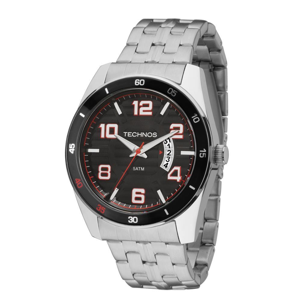 Relógio Technos Masculino - 2115KSS/1P  - Dumont Online - Joias e Relógios