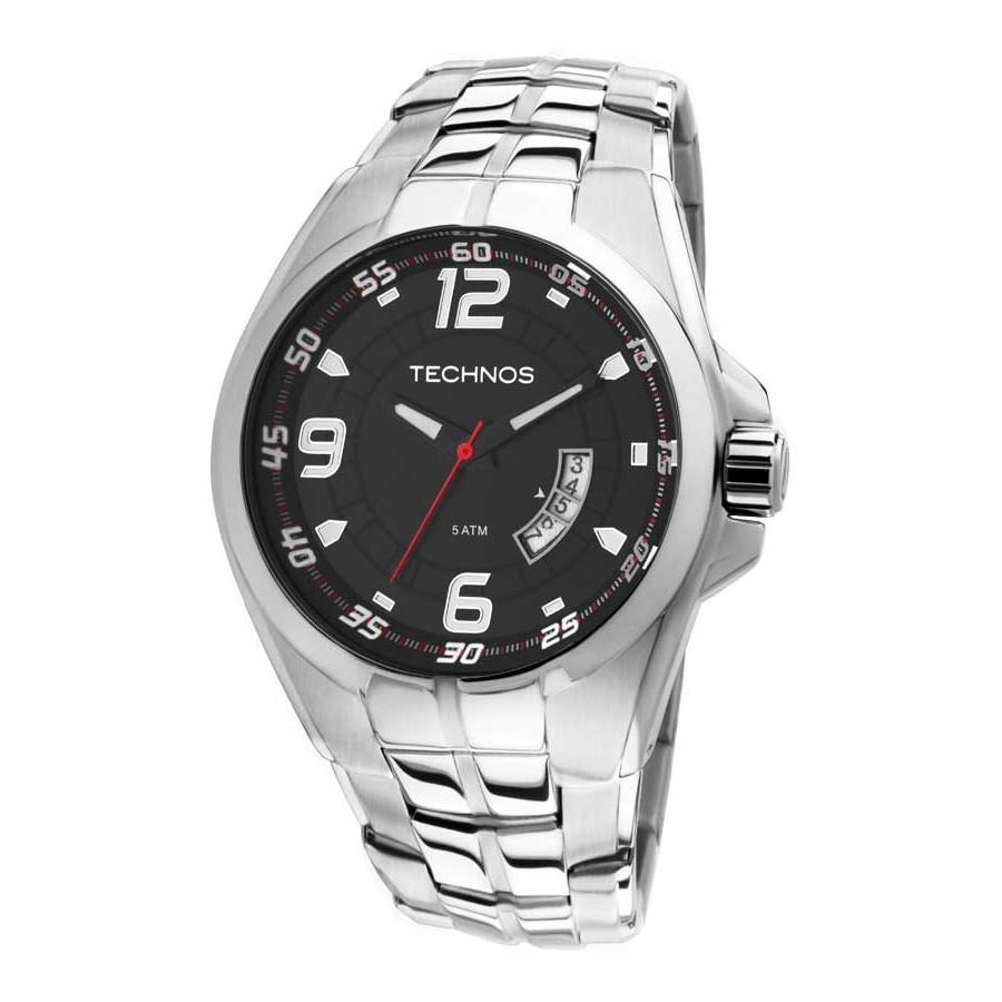 Relógio Technos Masculino - 2115KSW/1R  - Dumont Online - Joias e Relógios