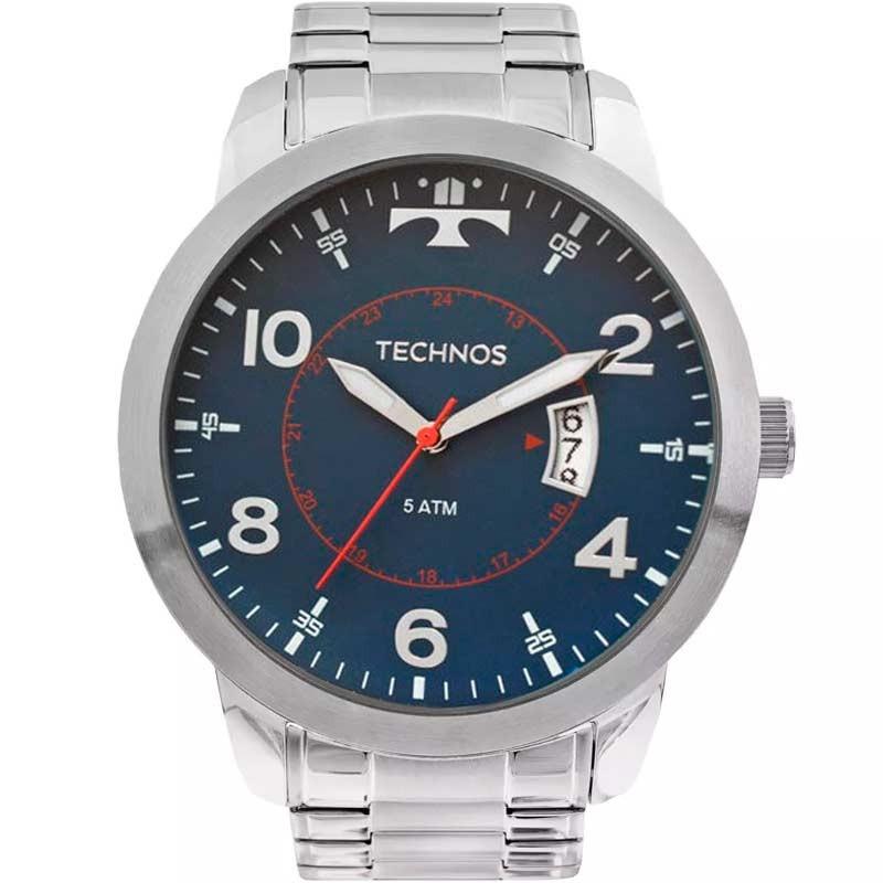 Relógio Technos Masculino - 2115KTM/1A  - Dumont Online - Joias e Relógios