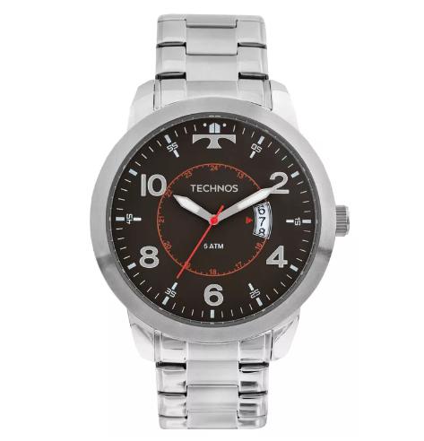 Relógio Technos Masculino - 2115KTM/1P  - Dumont Online - Joias e Relógios
