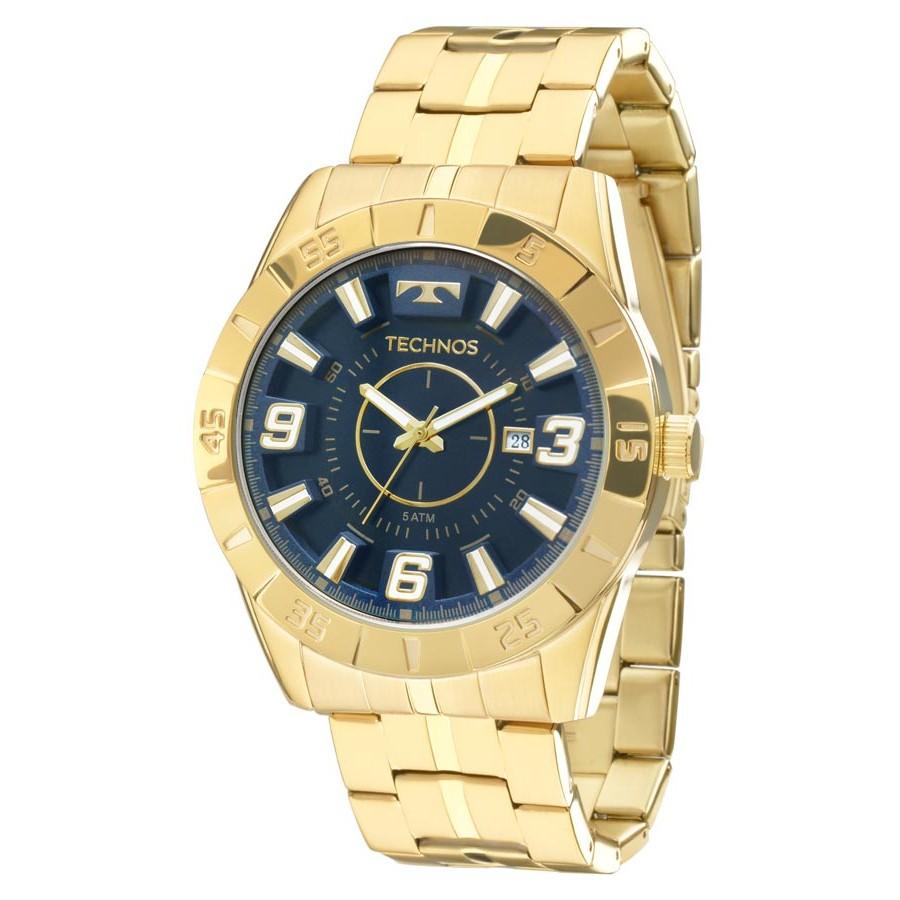 Relógio Technos Masculino - 2115KYZ/4A  - Dumont Online - Joias e Relógios