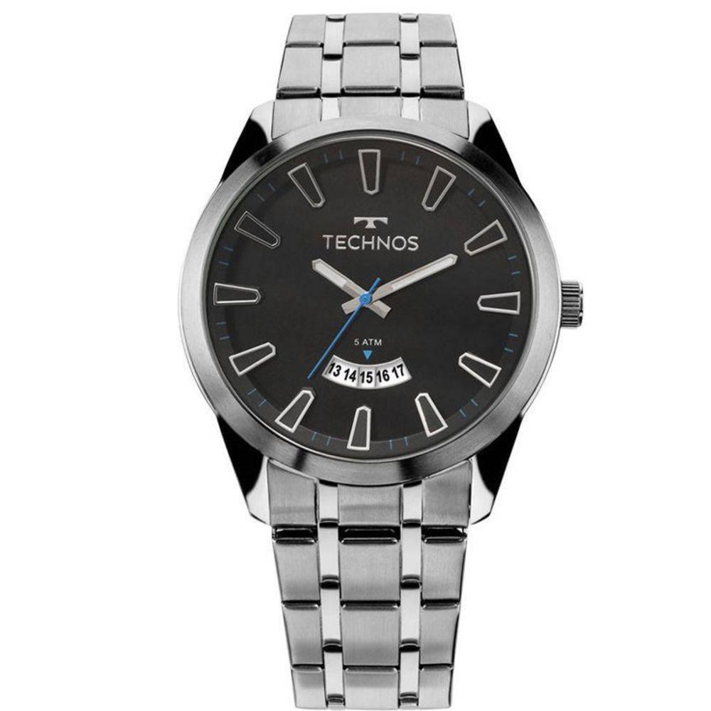 Relógio Technos Masculino - 2115KZB/1P  - Dumont Online - Joias e Relógios