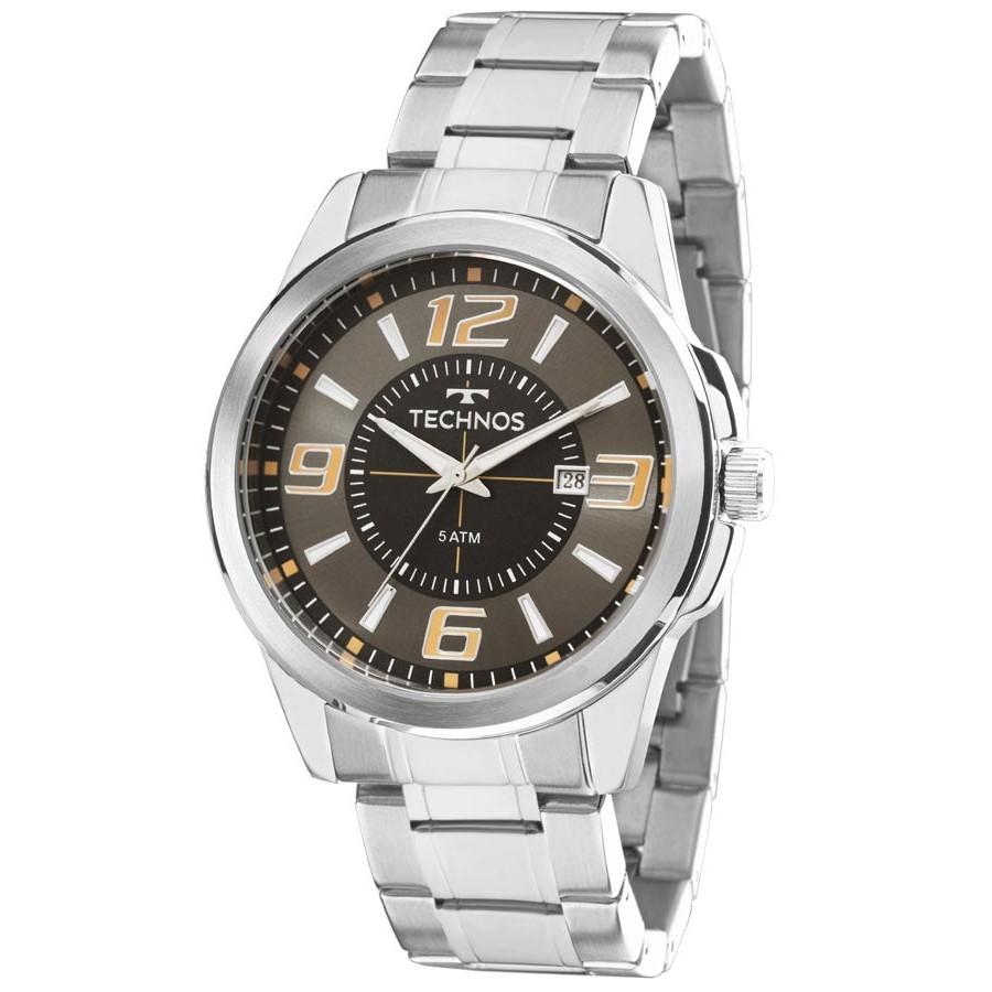 Relógio Technos Masculino - 2115KZZ/1C  - Dumont Online - Joias e Relógios