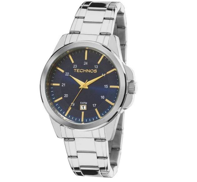 Relógio Technos Masculino - 2115MKY/1A  - Dumont Online - Joias e Relógios