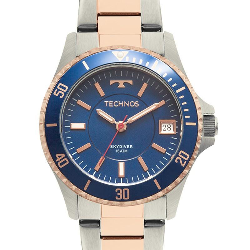 Relógio Technos Masculino - 2115MMM/5A  - Dumont Online - Joias e Relógios