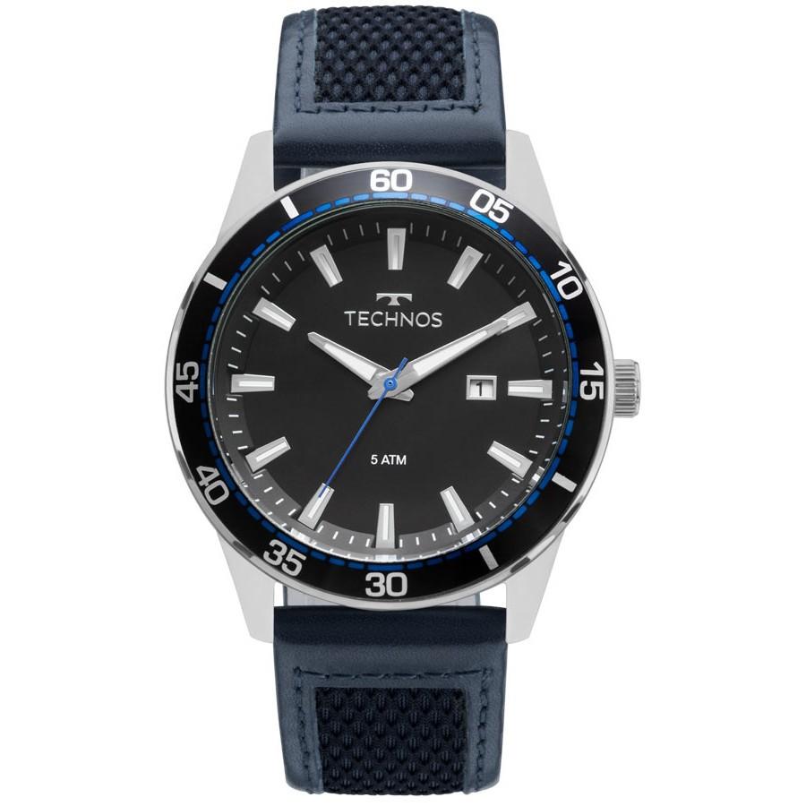 Relógio Technos Masculino - 2115MMZ/0A  - Dumont Online - Joias e Relógios