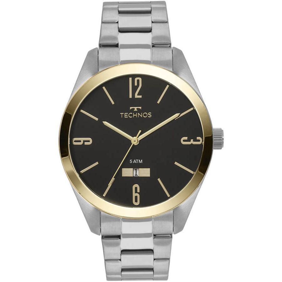Relógio Technos Masculino - 2115MNV/1P  - Dumont Online - Joias e Relógios