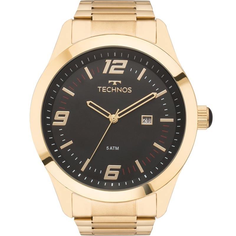 Relógio Technos Masculino - 2115MNZ/4P  - Dumont Online - Joias e Relógios