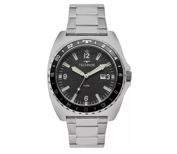 a2ea5c2898708 Relógio Technos Masculino - 2115MOB 1P - Dumont Online - Joias e Relógios