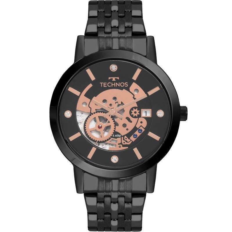 Relógio Technos Masculino - 2117LAQ/4P  - Dumont Online - Joias e Relógios