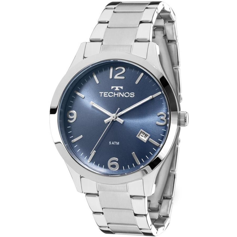 Relógio Technos Masculino - 2315ACC/3A  - Dumont Online - Joias e Relógios
