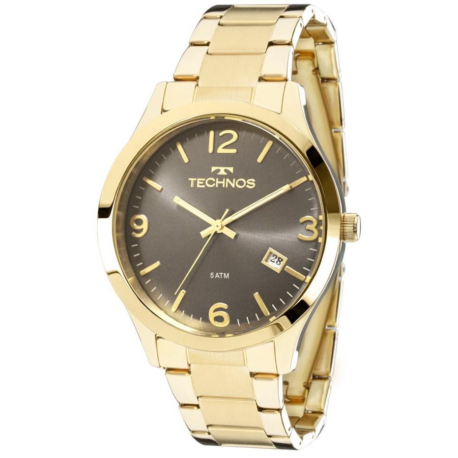 Relógio Technos Masculino - 2315ACD/4C  - Dumont Online - Joias e Relógios