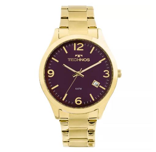 Relógio Technos Feminino - 2315ACD/4N  - Dumont Online - Joias e Relógios