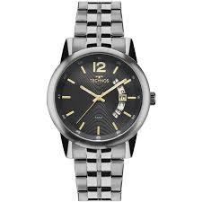 Relógio Technos Masculino - 2315KZM/1P  - Dumont Online - Joias e Relógios