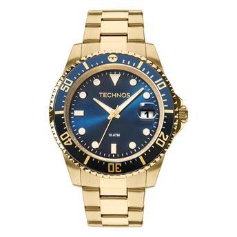 Relógio Technos Masculino - 2415CK/4A  - Dumont Online - Joias e Relógios