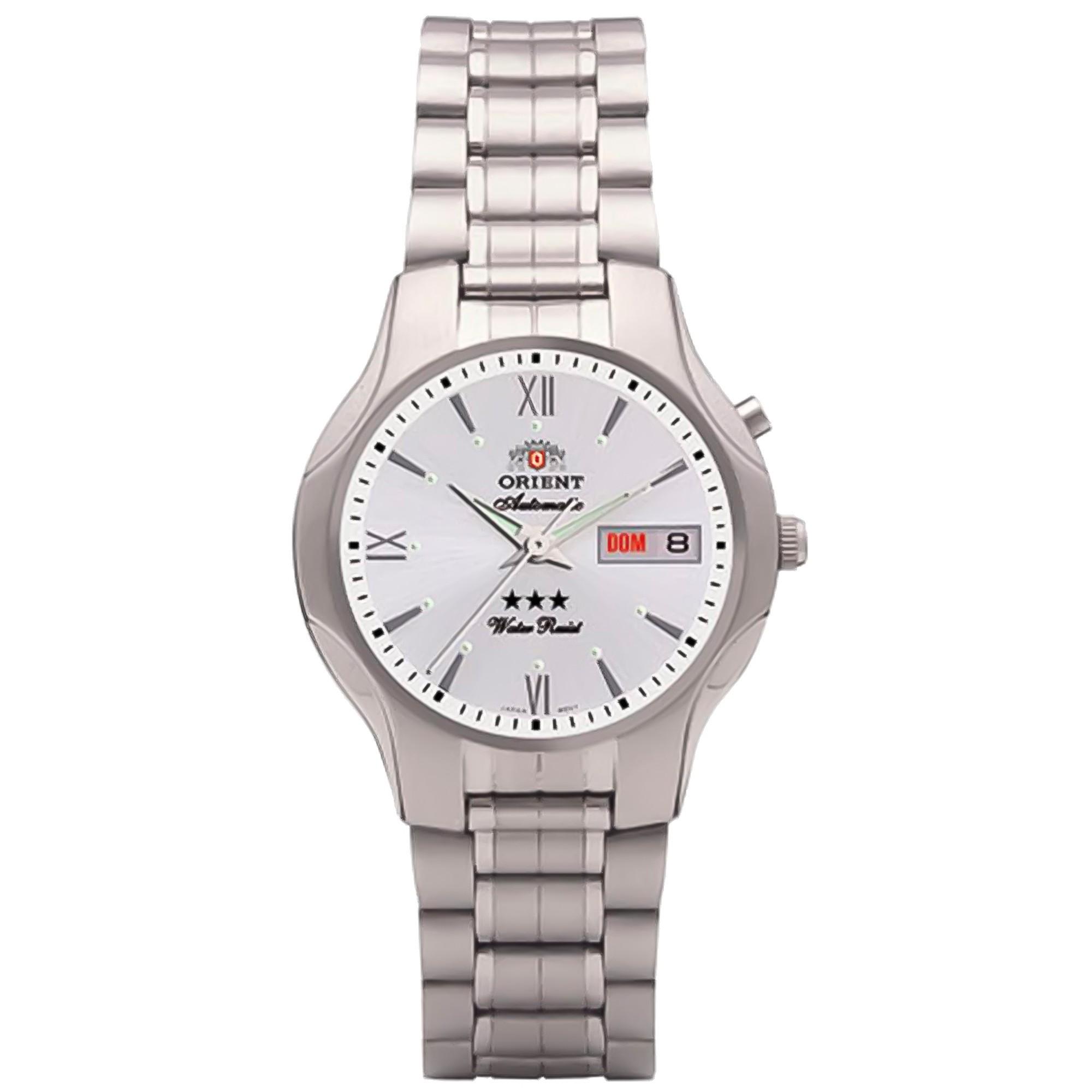 Relógio Orient Masculino - 469SS001 S3SX  - Dumont Online - Joias e Relógios