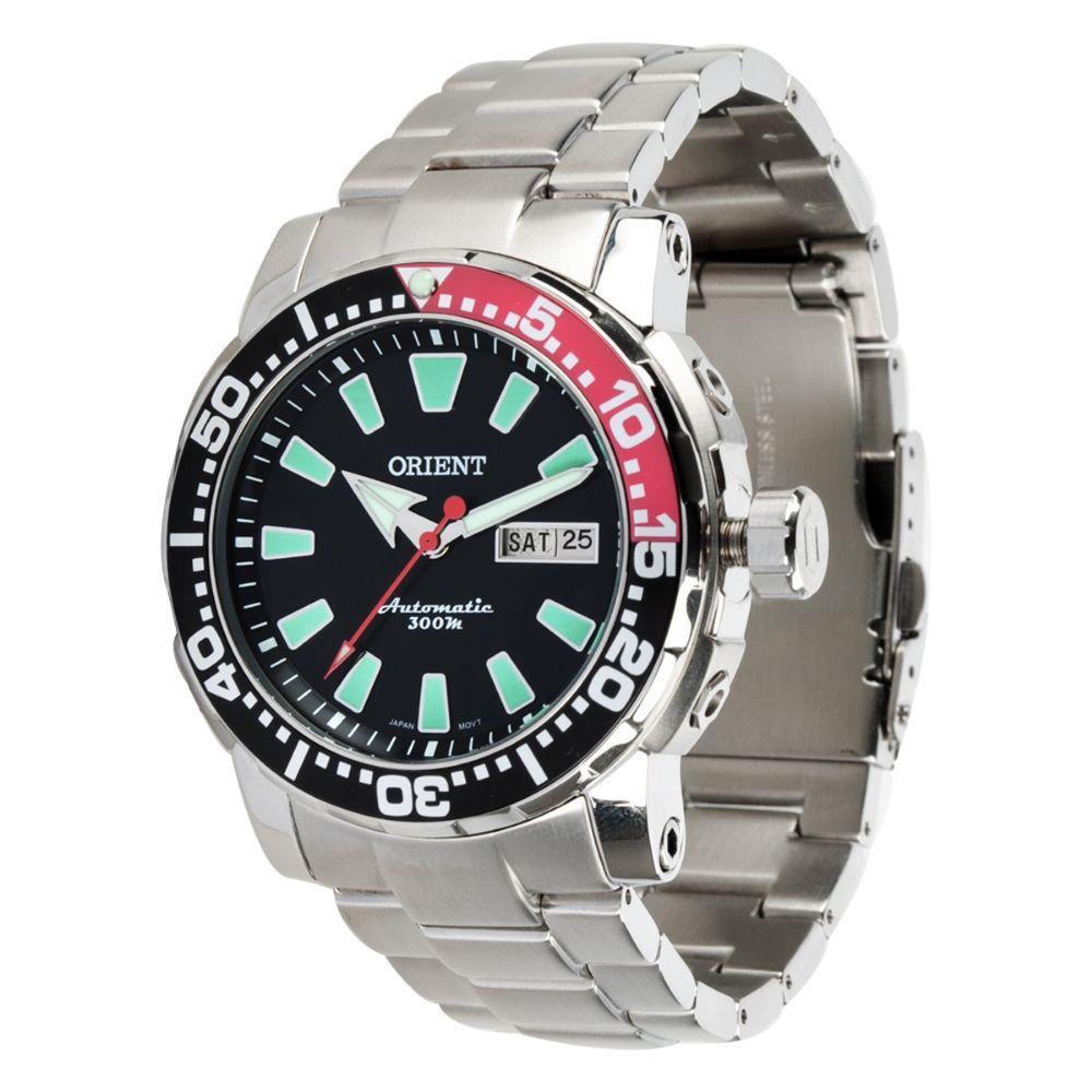 Relógio Orient Masculino - 469SS039 PVSX  - Dumont Online - Joias e Relógios