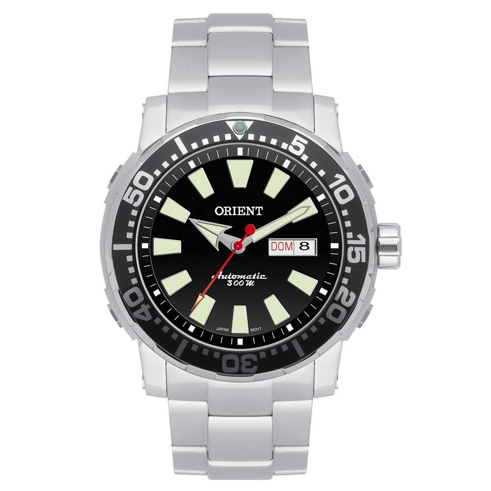 Relógio Orient Masculino Automático - 469SS040 P1SX  - Dumont Online - Joias e Relógios