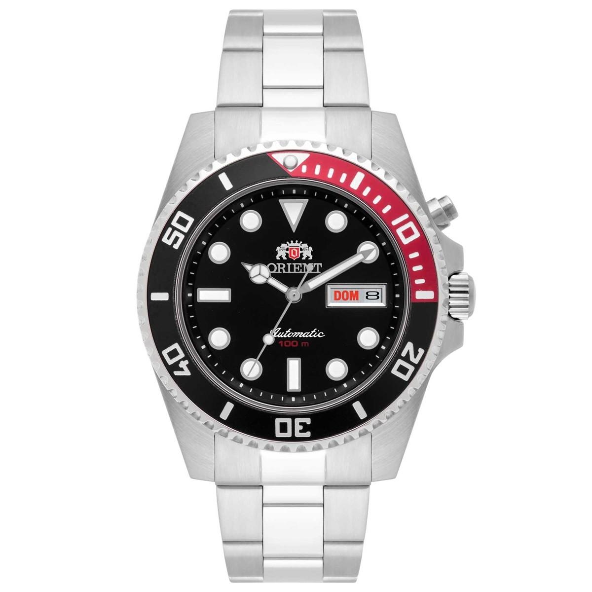 Relógio Orient Masculino - 469SS068 P1SX  - Dumont Online - Joias e Relógios