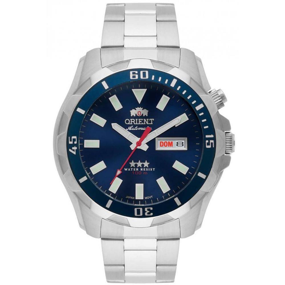 Relógio Orient Masculino - 469SS078 D1SX  - Dumont Online - Joias e Relógios