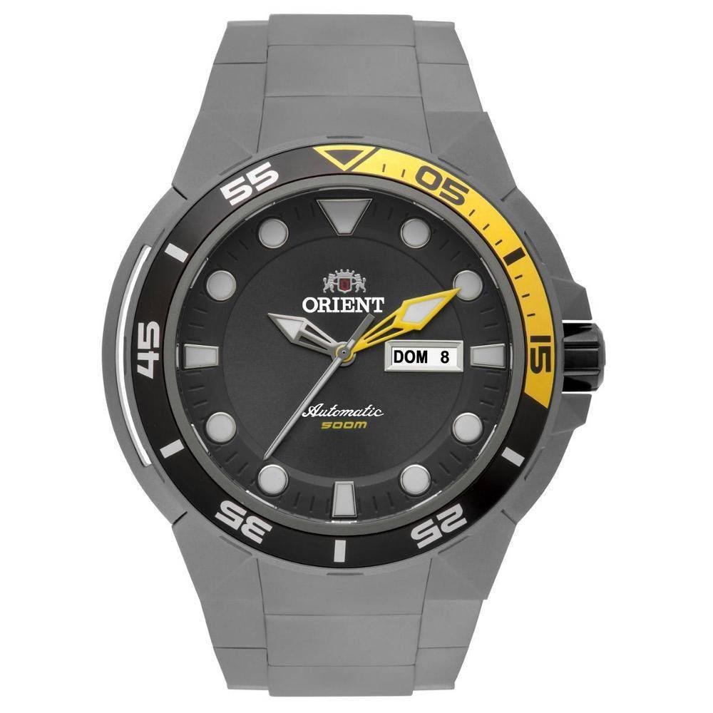 Relógio Orient Masculino - 469TI003 G1GX  - Dumont Online - Joias e Relógios