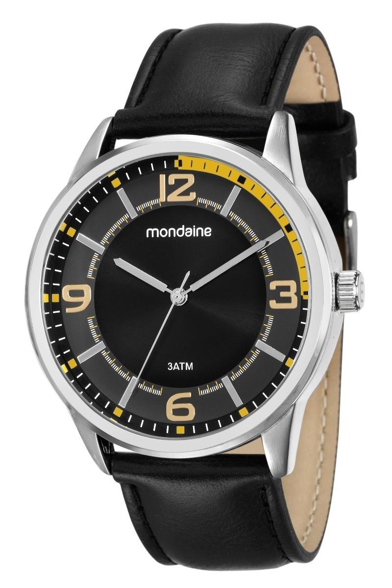 Relógio Mondaine Masculino - 53515G0MVNH1  - Dumont Online - Joias e Relógios