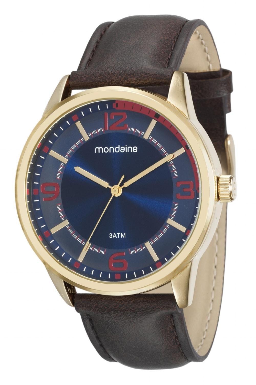 Relógio Mondaine Masculino - 53515GPMVDH3  - Dumont Online - Joias e Relógios