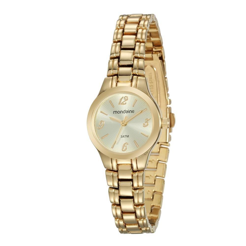 Relógio Mondaine Feminino - 53540LPMVDE1  - Dumont Online - Joias e Relógios
