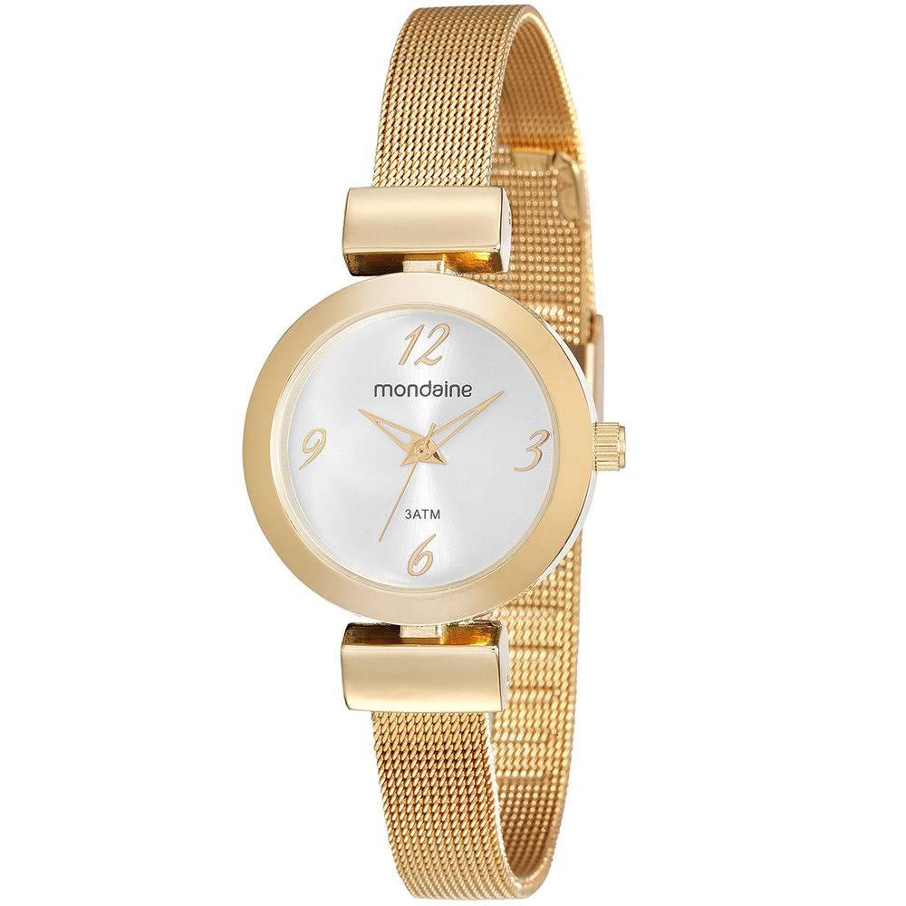 Relógio Mondaine Feminino - 53555LPMVDE1  - Dumont Online - Joias e Relógios