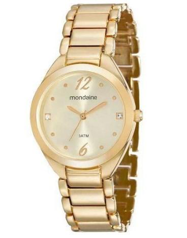 Relógio Mondaine Feminino - 53566LPMVDE1  - Dumont Online - Joias e Relógios