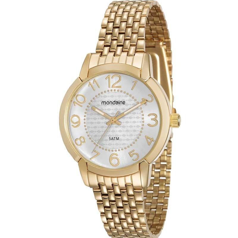 Relógio Mondaine Feminino - 53570LPMVDE1  - Dumont Online - Joias e Relógios