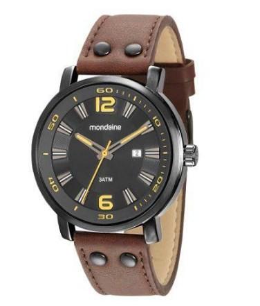 Relógio Mondaine Masculino - 53591GPMVPH1  - Dumont Online - Joias e Relógios