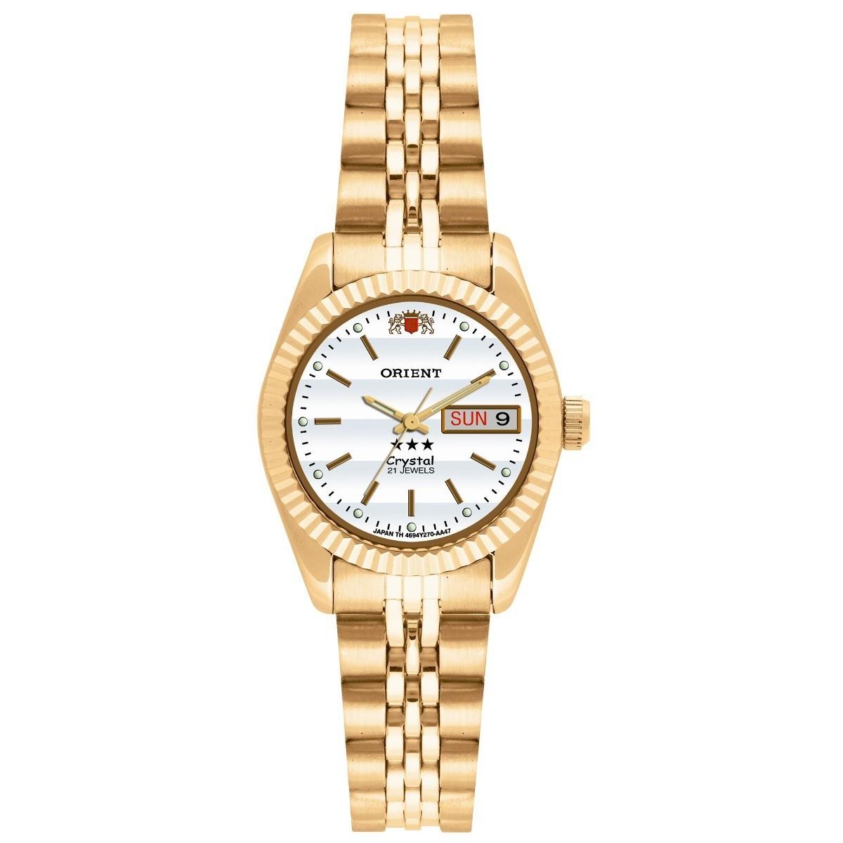 Relógio Orient Feminino - 559EB1X  - Dumont Online - Joias e Relógios