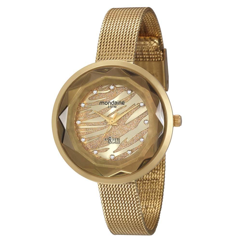 Relógio Mondaine Feminino - 76352LPMVDE1  - Dumont Online - Joias e Relógios