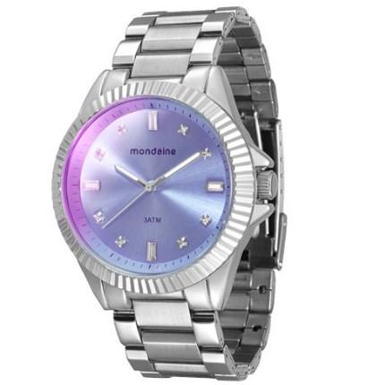Relógio Mondaine Feminino - 76496L0MVNE3  - Dumont Online - Joias e Relógios