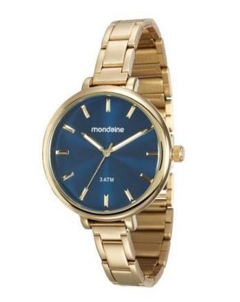 Relógio Mondaine Feminino - 76584LPMGDE1  - Dumont Online - Joias e Relógios