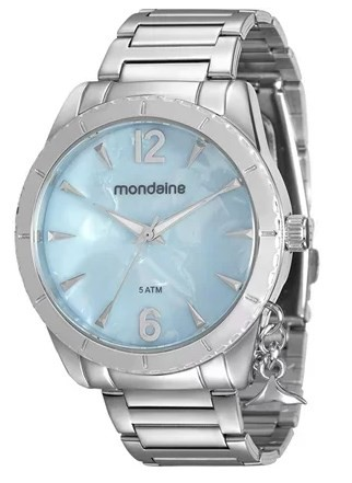 Relógio Mondaine Feminino - 76643L0MVNE3  - Dumont Online - Joias e Relógios